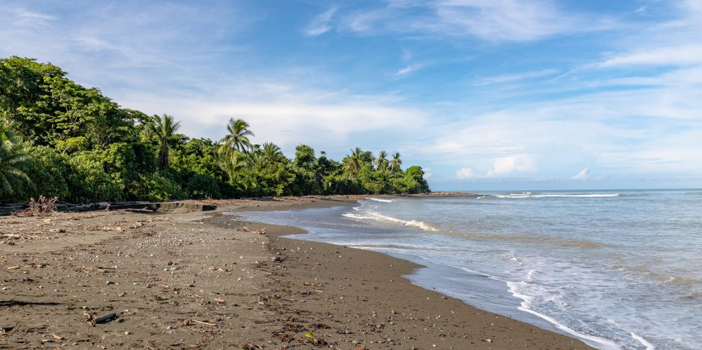 Strand von La Sirena im Corcovado Nationalpark
