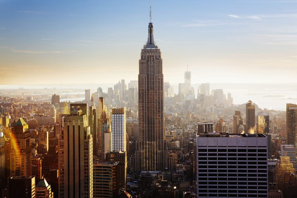 Blick aufs Empire State Building - DAS Wahrzeichen