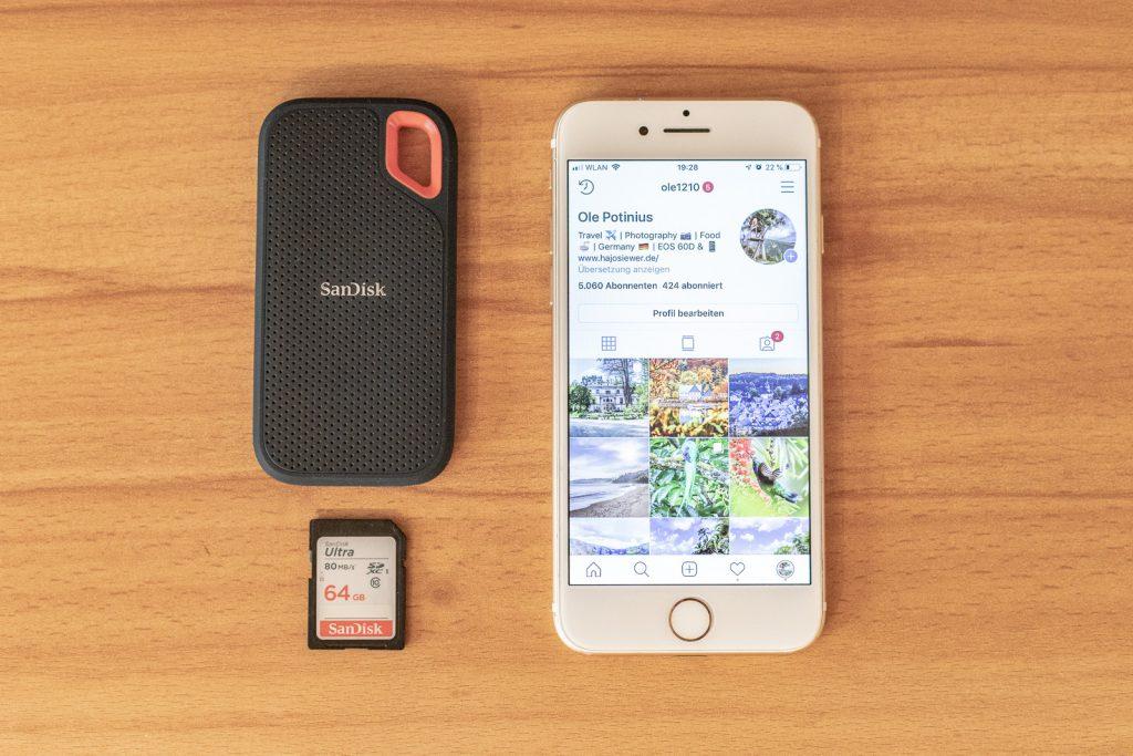 SanDisk Extreme Portable SSD - stylish und kompakt