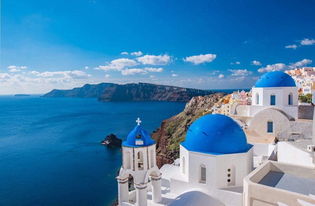 Santorini - das vielleicht bekannteste Bild