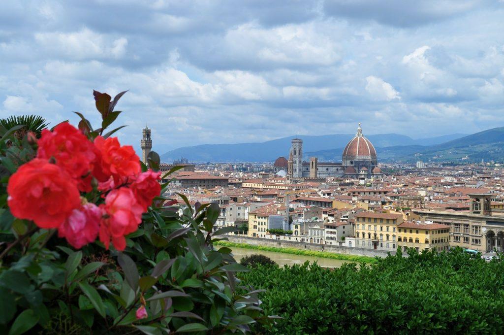 Blick über das wunderschöne Florenz