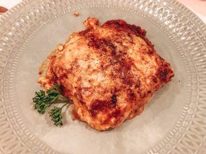 ganz klassische Lasagne