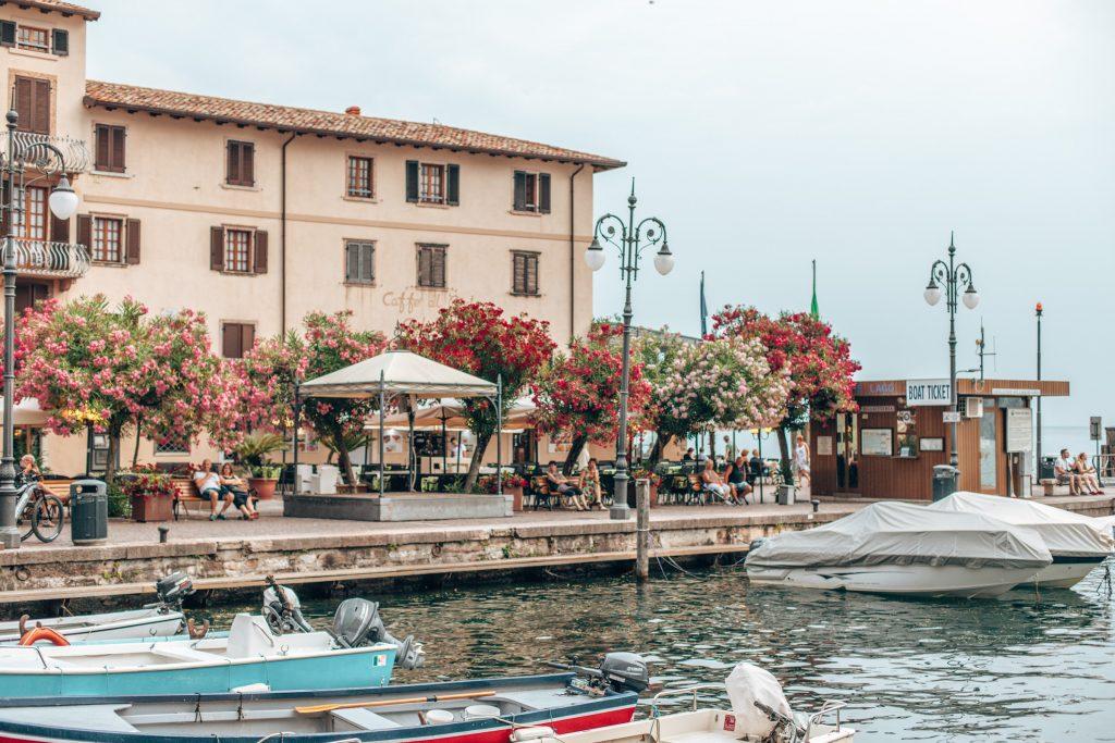 Der Hafen von Malcesine