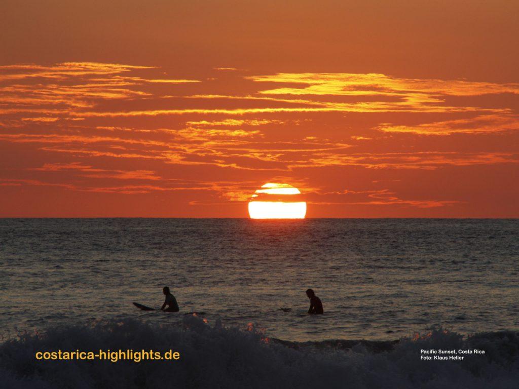 Reiseführer Panama Highlights - Sonnenuntergang im Pazifik