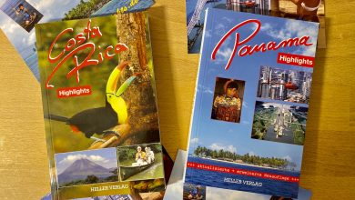 Reiseführer Panama und Costa Rica vom Heller Verlag