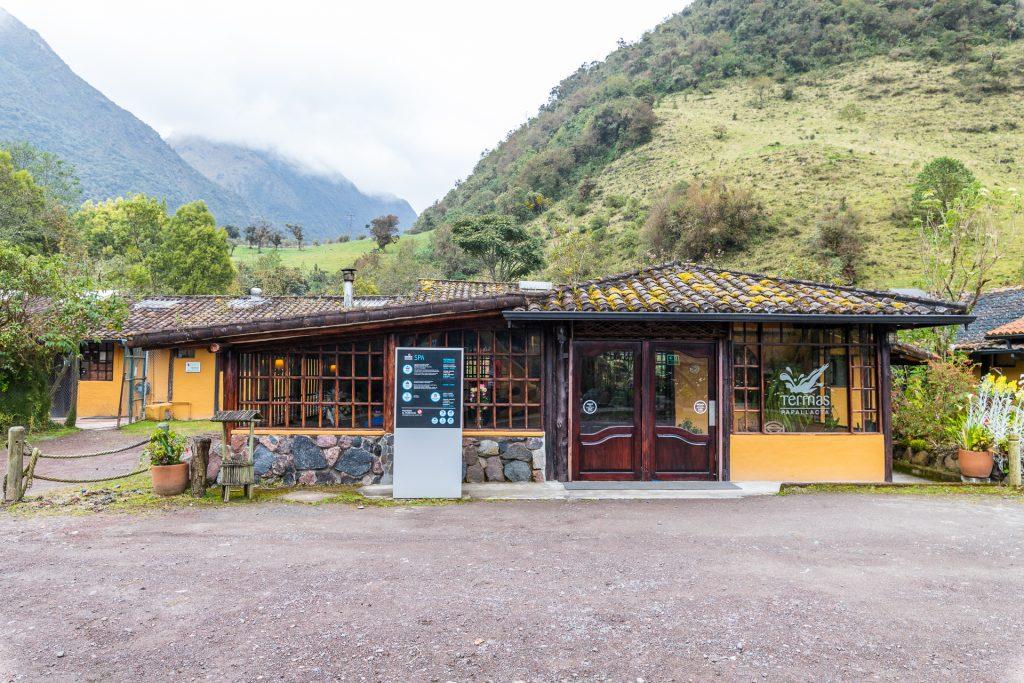 Das SPA im Termas de Papallacta Hotel