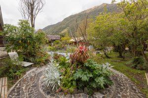 Gartenanlage im Termas de Papallacta Hotel