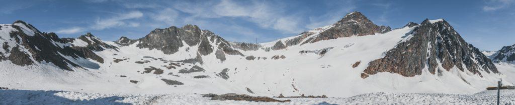 Winterpanorama an der Braunschweiger Hütte