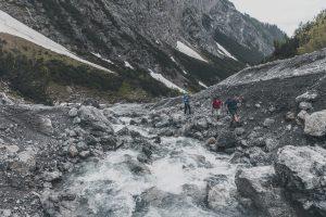 Schmelzwasser - in rauhen Mengen