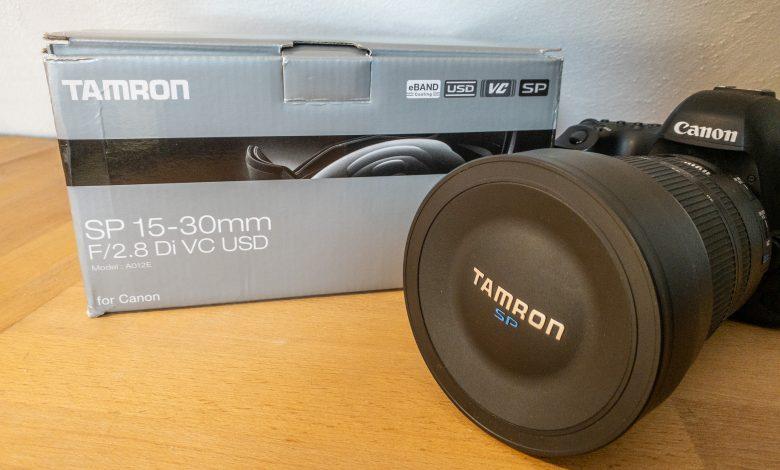 Weitwinkel Zoomobjektiv Tamron SP 15-30mm F/2.8 Di VC