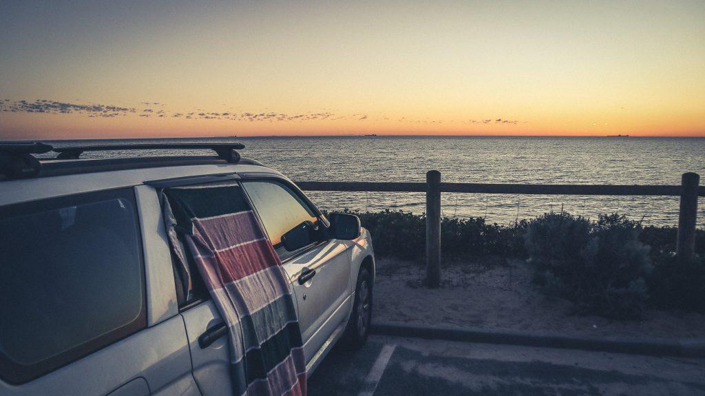 Am Strand übernachten - in Australien teilweise möglich