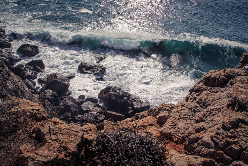 Brandung am Cabo de São Vicente
