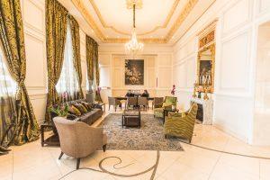 """Die """"Lobby"""" vom Hotel Casa Gangotena"""