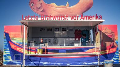 Photo of Letzte Bratwurst vor Amerika in Sagres, Portugal