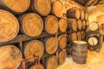 In diesen alten Fässern reift der Rum