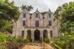 Das alte Herrenhaus von Mount Gay Rum