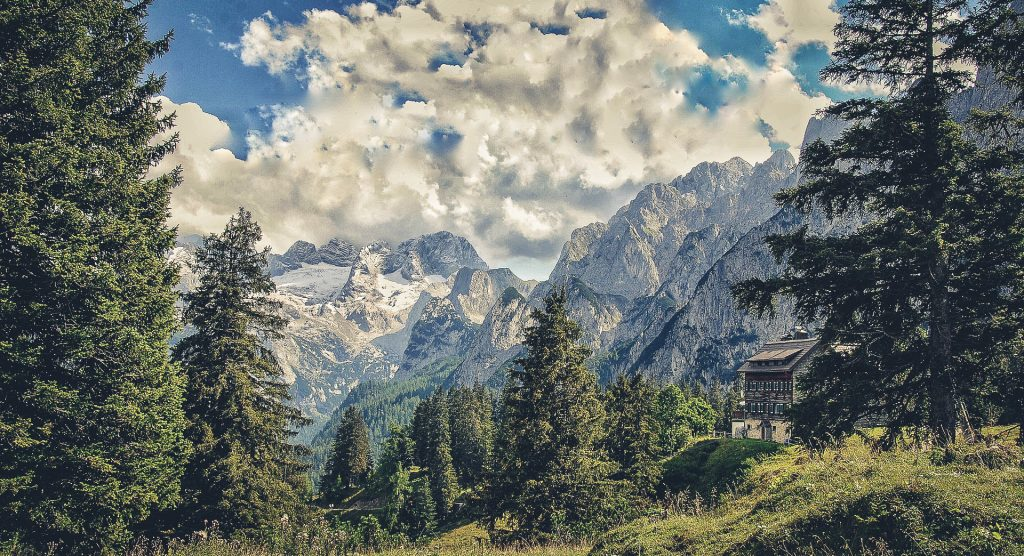 Traumhafte Landschaft im Salzkammergut