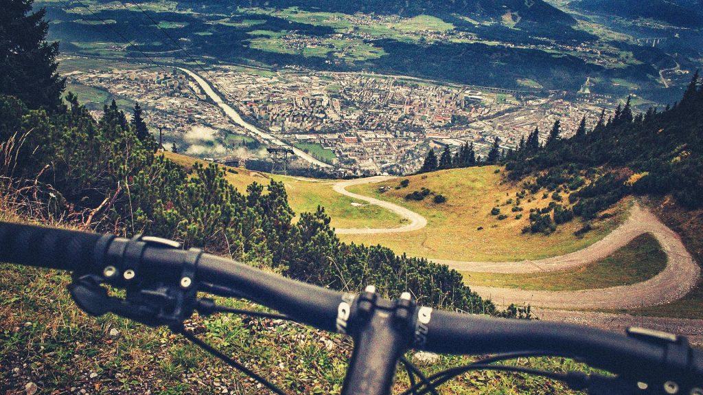 Biken bei Innsbruck