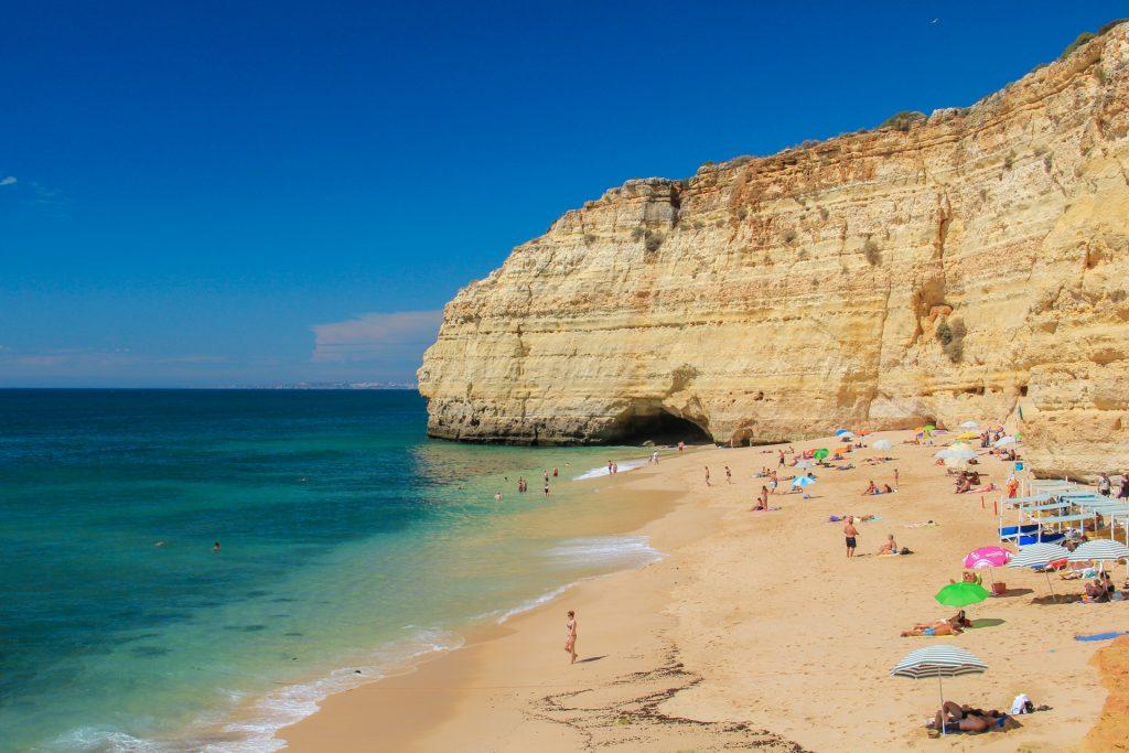 Strände an der Algarve - nur selten überfüllt