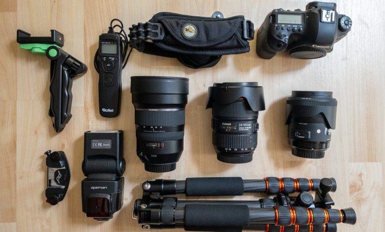 Meine Kameraausrüstung