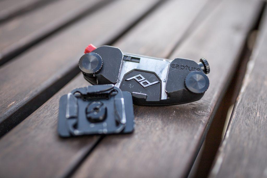 Kamerahalterung Peak Design Camera Clip Capture Pro nach Jahren im Einsatz