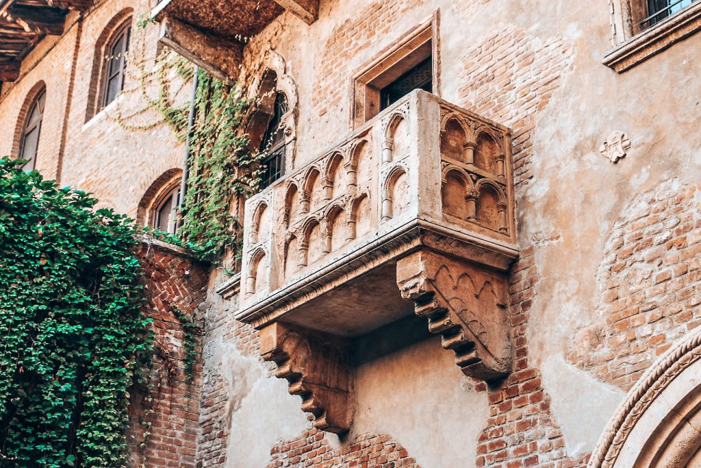 Der berühmte Balkon aus Romeo und Julia