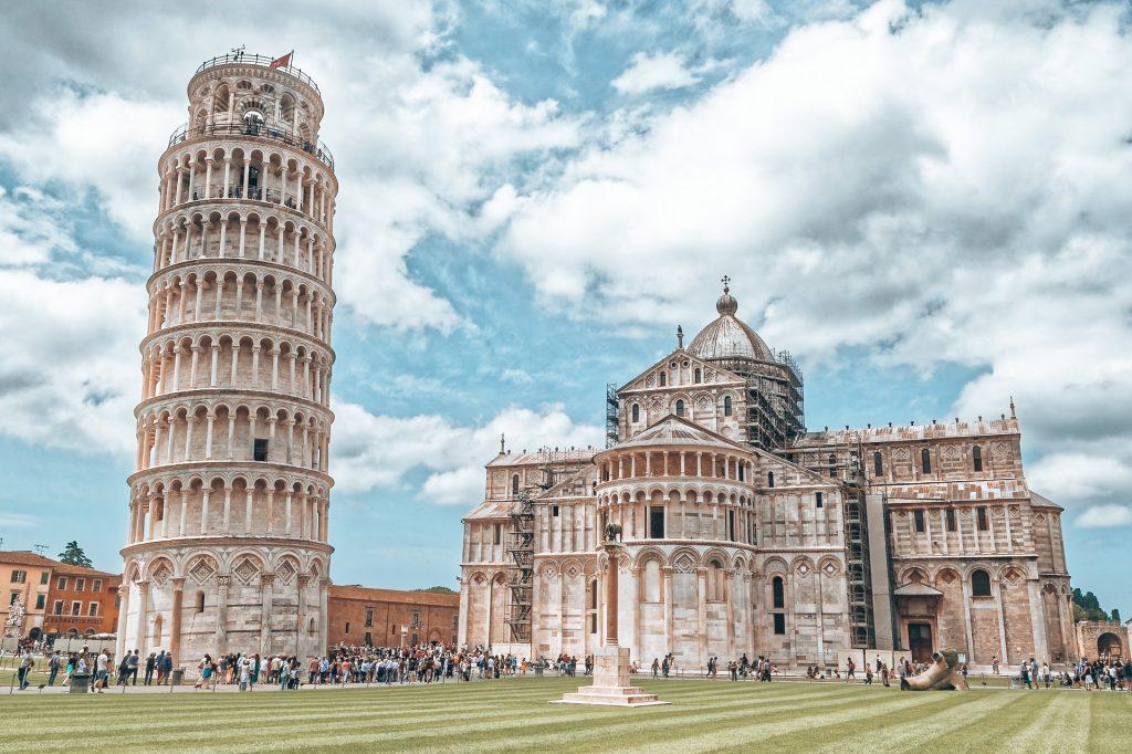 Pisa gehört natürlich zu den schönsten Orten in Italien