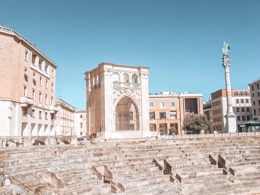 Das Ampphitheater von Lecce