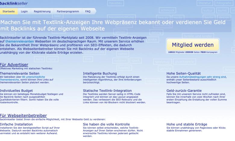 Backlinkseller: Links kaufen und verkaufen