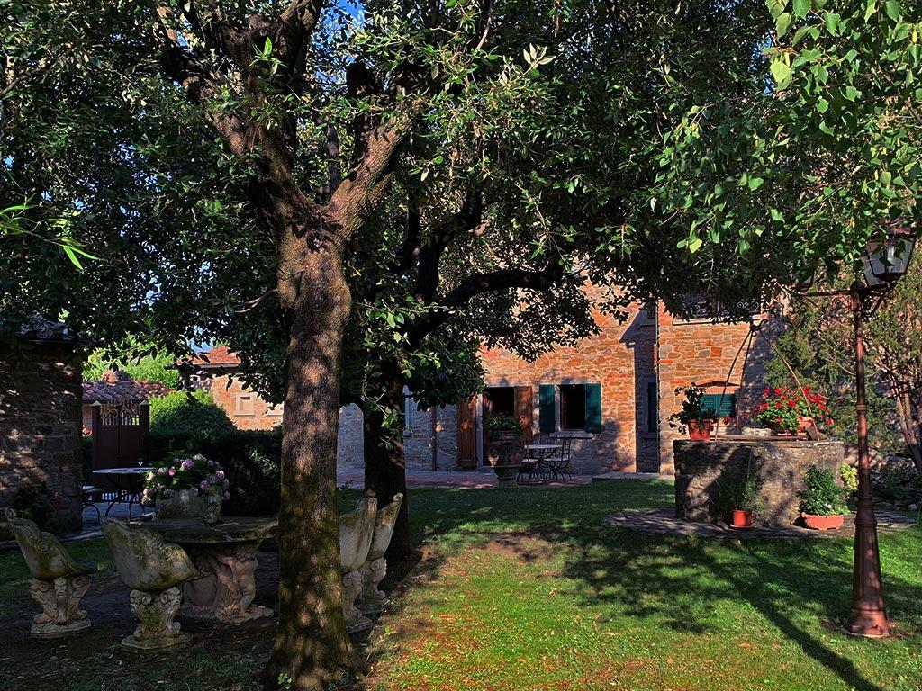 Corte dei Papi Weingut Garten