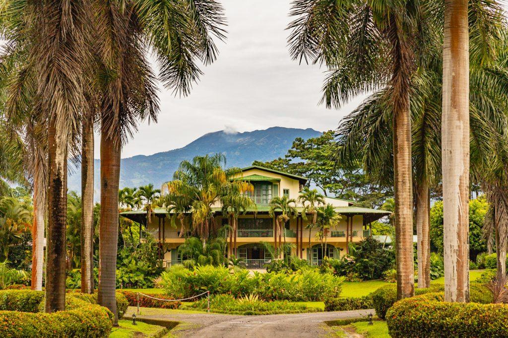 Hotel Casa Turire - im Hintergrund der Vulkan Turrialba