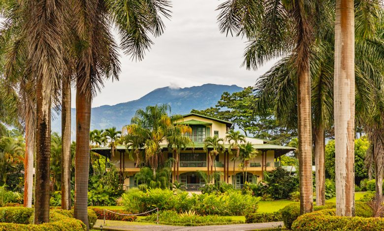 Blick auf das wunderbare Hotel Casa Turire