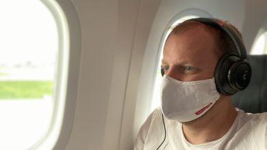 29 Stunden mit Maske im Flugzeug