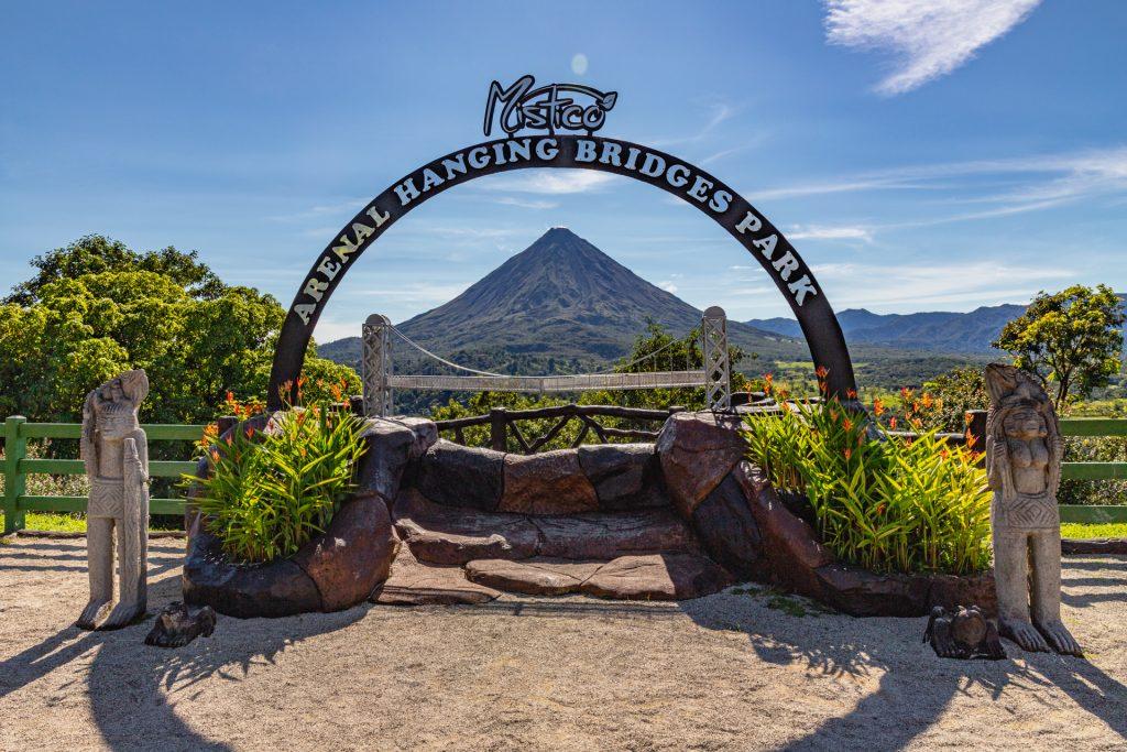 Der perfekte Blick auf den Vulkan Arenal
