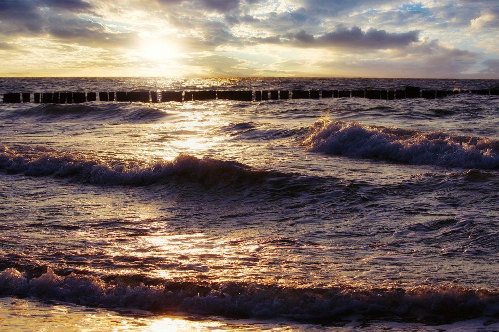 Wechselhaftes Wetter an der Nordsee