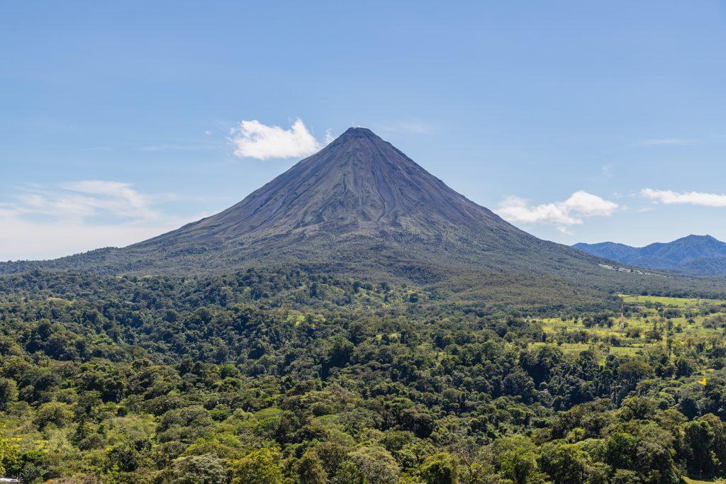 Der perfekte Vulkankegel vom Arenal