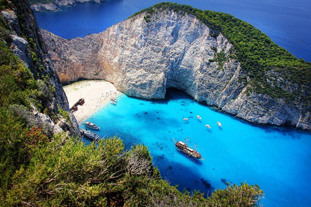 Zakynthos - die berühmteste Bucht in Griechenland